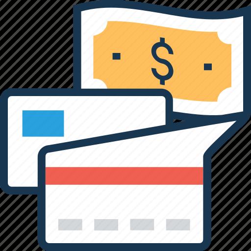 bank card, credit card, money, paper money, plastic money icon
