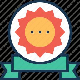award, badge, emblem, favorite, shopping icon