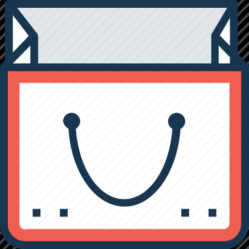 bag, commerce, shopper, shopping, tote bag icon