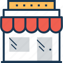building, market, marketplace, shop, store icon