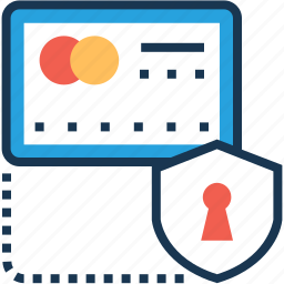 atm card, banking, card security, credit card, shield icon