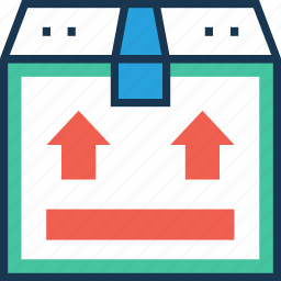 courier, package, service, shipment, shipping icon