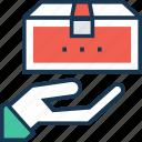 gift, gift box, present, present box, ship icon