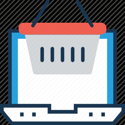basket, item, online shopping, product, shopping icon