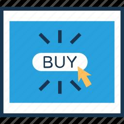 buy, click, cursor, online shopping, shopping icon