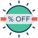 badge, discount, discount tag, offer, percentage