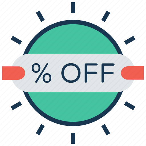 badge, discount, discount tag, offer, percentage icon