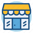 building, commerce, shop, shopping, shopwindow, store icon