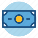 banknote, commerce, dollar, money, paper money, shopping icon