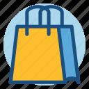 bag, carrier bag, commerce, shopping, shopping bag icon