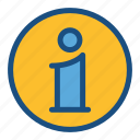 commerce, help, info, information, shopping, sign icon