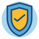 commerce, protection, safe, safety, shield, shopping icon