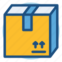 box, cargo, commerce, package, shopping icon