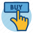 buy, click, commerce, online, online shopping, shopping icon