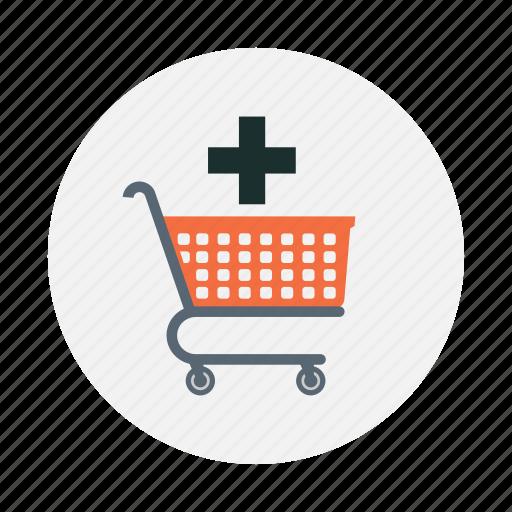 bag, basket, shopping car, shopping cart icon