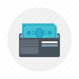 card, currency, money bag, payment type, wallet icon