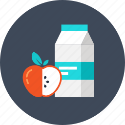 apple, buy, consumerism, drink, food, juice, merchandise, milk, retail, shopping icon