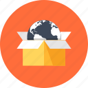 box, buy, commerce, container, delivery, ecommerce, packaging, product, shipment, shipping, shopping icon
