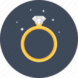 diamond, engagement, gem, gemstone, gold, jewellery, jewelry, marriage, ring, wedding icon