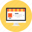 buy, commerce, computer, consumerism, ecommerce, market, marketplace, online, shop, shopping, store, webshop icon