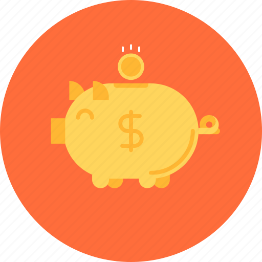 bank, budget, business, cash, currency, deposit, finance, investment, money, piggy, savings icon