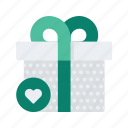 commerce, ecommerce, favourite, gift, present, shopping icon