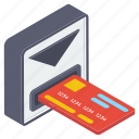 atm withdrawal, card payment, cash withdrawal, ebanking, money withdrawal, transaction icon