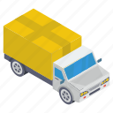 cargo, delivery van, logistics delivery, parcel delivery, shipment icon