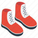 climbing boots, hiking shoes, mountain shoes, running shoes, trekking shoes icon