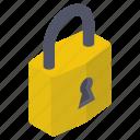 no access, padlock, protection, protective lock, secure lock icon