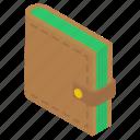 billfold wallet, cash storage, money wallet, purse, wallet icon