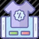 buy shirt, eshopping, mobile shopping, online shopping, shopping discount icon