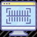 barcode scanning, code scanning, ecommerce, price scanning, qr scanner icon