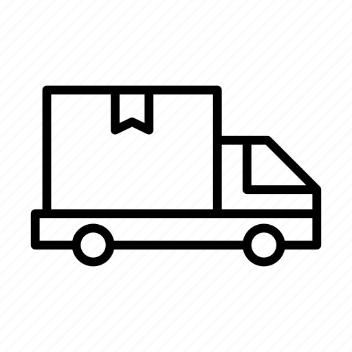 delivery, lorry, shipping, truck, vehicle icon
