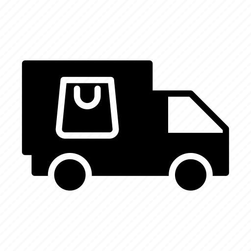 delivery, shopping, transport, truck, vehicle icon