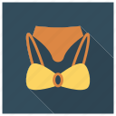 bra, clothes, clothing, fashion, garment, undergarments, underwear icon