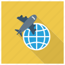 deliveryservice, globaldelivery, international, internationalshipping, package, shipping, transport icon