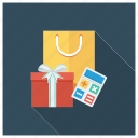 calculator, ecommerce, gift, present, shop, shopping, shoppingbag
