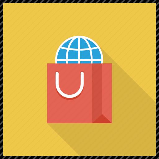 Buy, ecommerce, global, international, shop, shopping, shoppingbag icon - Download on Iconfinder