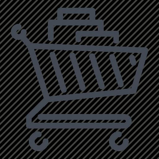 cart, commerce, e, product, shop, shopping icon