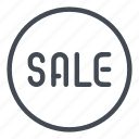 discount, price, sale, tag icon