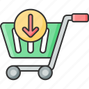 add, basket, cart, ecommerce, online, shopping, to