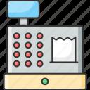 cash, cashier, counter, machine, payment, retail counter, technology