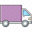 delivery, service, shipping, transport, truck, van, vehicle