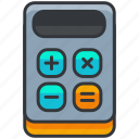 calculate, calculator, ecommerce, finance, shopping icon