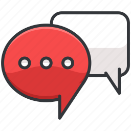 chat, conversation, ecommerce, finance, shopping, text icon