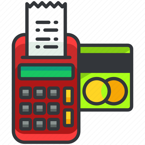 card, credit, ecommerce, finance, machine, shopping icon