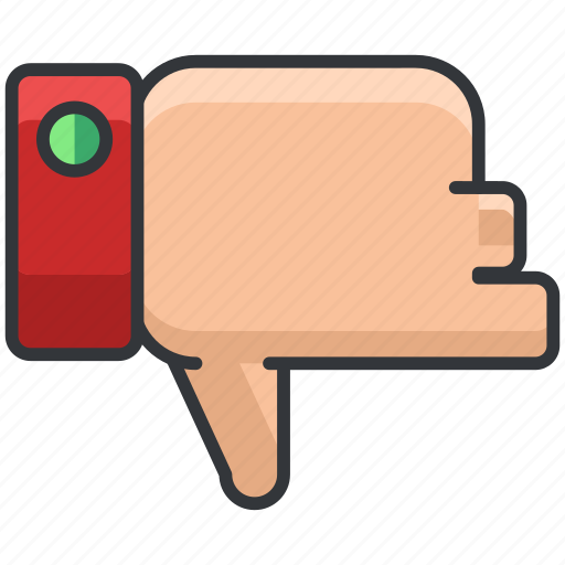 dislike, ecommerce, finance, shopping, thumbs down icon