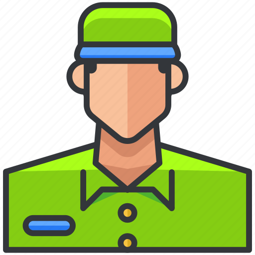 avatar, ecommerce, employee, finance, man, shopping icon