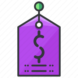 dollar, ecommerce, finance, price, shopping, tag icon